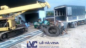 Cáp D36, Cáp thép, Sản phẩm cáp thép, cáp D36 của Hàn Quốc, thép cacbon, Công ty TNHH Lê Hà Vina, Giao cáp D36 cho nhiệt điện Trà Vinh